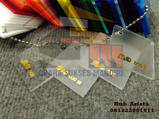gambar acrylic bening per lembar