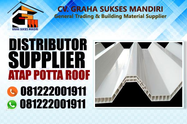 atap potta roof per meter