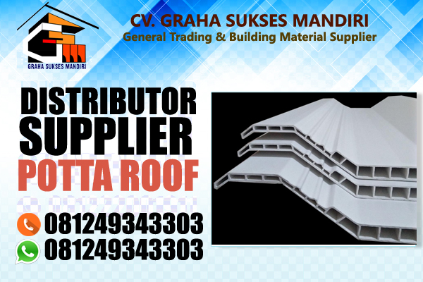 Atap uPVC Potta Roof